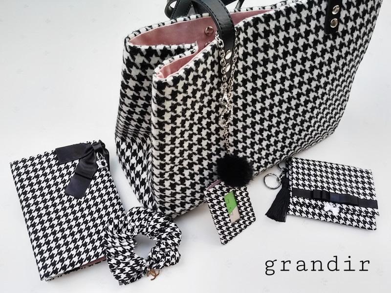 カルトナージュ・縫わないバッグと小物grandirグランディール作品画像
