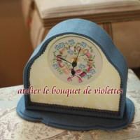アンティークの空気に触れて。le bouquet de violettes